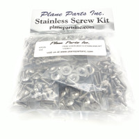 Piper PA32 Cherokee Six/Saratoga Stainless Screw Kit/Airframe