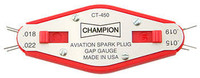 Champion CT450 Spark Plug gap gauge