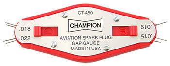 Champion CT450 Spark Plug gap gauge