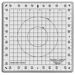 ASA Square Chart Plotter (ASA-CP-P5)-SkySupplyUSA