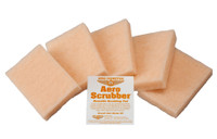 ASP5 The Aero Scrubber is a soft, non-scratching, long-lasting, reusable scrubber pad. Use with Wash Wax ALL to help remove bugs from leading edges or use with Wash Wax ALL (Degreaser) or Belly Wash on tough cleaning jobs such as aircraft bellies, engine areas, wheels and tires.