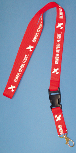 Remove before flight lanyard by Born Aviation Products