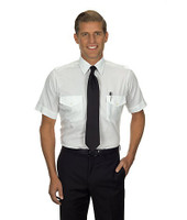 Aviator Short Sleeve Shirt (White) 57306-SkySupplyUSA
