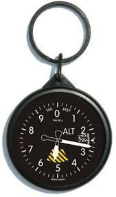 Keychain - Round Altimeter (KCALTR)-SkySupplyUSA