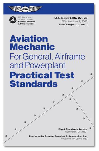ASA-8081-AMT-4 Practical Test Standards (ASA-8081-AMT-4)-SkySupplyUSA ISBN: 978-1-56027-976-1