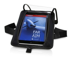 ASA iPad Kneeboard (Fabric)  (ASA-KB-IPAD-2)-SkySupplyUSA