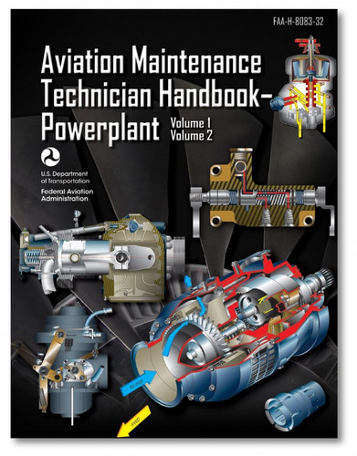 AMT Handbook - Powerplant-Volumes 1 & 2  ASA-8083-32)-SkySupplyUSA