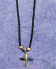 Airplane Paua Shell Necklace JN-APS