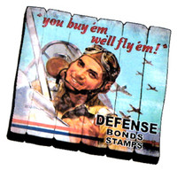 MA-YB You Buy'em Fence Magnet