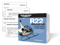 R22 Helicopter Flashcards Study Guide ASA-CARDS-R22