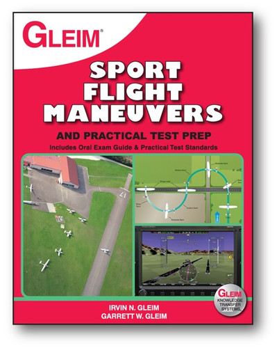 Gleim Sport Pilot Flight Maneuvers and Practical Test Prep Book G-SP-MAN-2