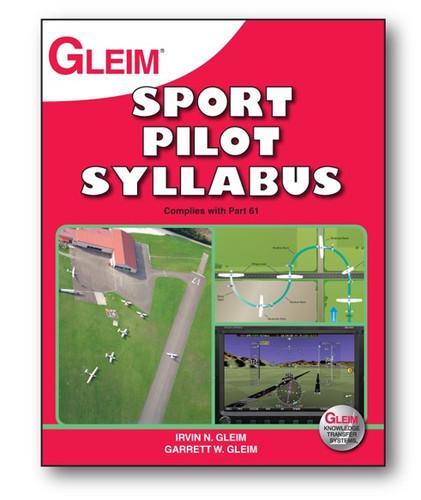 Gleim Sport Pilot Syllabus book, 3rd Ed.  G-SP-SYL-3