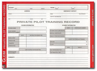 Gleim Private Pilot Training Record (G-PP-TR)-SkySupplyUSA
