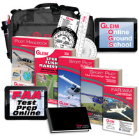 Gleim Deluxe Sport Pilot Kit with Online Ground School G-DSP-KIT SkySupplyUSA.com