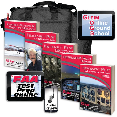 Gleim Deluxe Instrument Pilot Kit with Audio Review G-DIPAR-KIT SkySupplyUSA.com