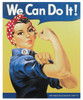 Rosie the Riveter Tin Sign TN-RR