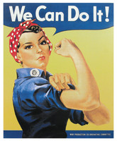 Rosie the Riveter Tin Sign TN-RR