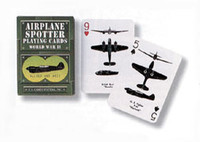 1943 Civil Defense Ground Observer Spotter Cards (replica deck) Green Deck AN-DECK
