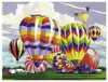 Hot Air Balloon Paint By Number CR-PNBL