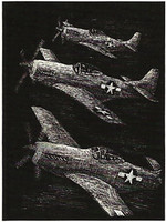 P-51 Engraving Art CR-EA51
