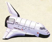Space Shuttle Inflatable Balloon IN-SS