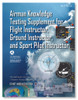 ASA FAA Flight, Ground, and Sport Pilot Instructor Computer Testing Supplement ASA-CT-8080-5F-SkySupplyUSA