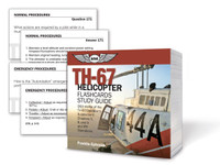 ASA TH-67 Helicopter Flashcards Study Guide (ASA-CARDS-TH67)-SkySupplyUSA