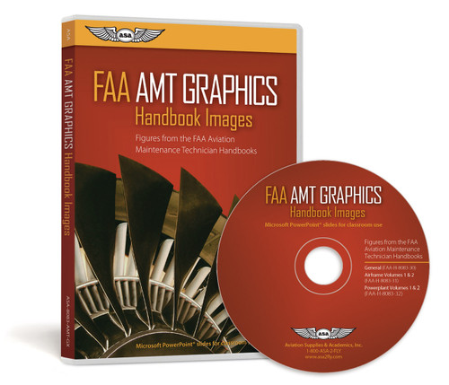 ASA FAA Aviation Maintenance Technician Handbook GRAFX Textbook Images ASA-8083-AMT-GX