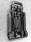 Folding Luggage Cart (New and Improved) (207-722-001)-SkySupplyUSA