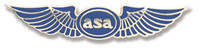 ASA Lapel Pin (ASA-WINGS)-SkySupplyUSA