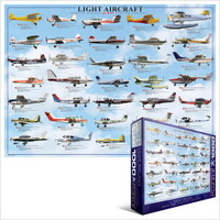 Light Aircraft Puzzle - 1000 Pieces PUZZLE-1000-LA