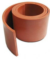 Aircraft Engine Baffle Seal Red
