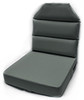 Aero Phoenix Seat Cushion single view in gray / SkySupplyUSA