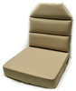 Aero Phoenix Seat Cushion single view in tan / SkySupplyUSA