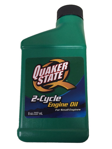 Quaker State 2-Cycle Engine Oil for Small Engines (8oz. Bottle) 08-06260 (single)