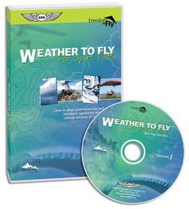 ASA Sport Pilot Weather to Fly DVD - SkySupplyUSA (ASA-F2F-W2F)