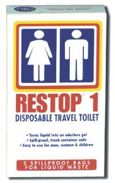 RESTOP Liquid Wastebag - 2 Pack  RESTOP