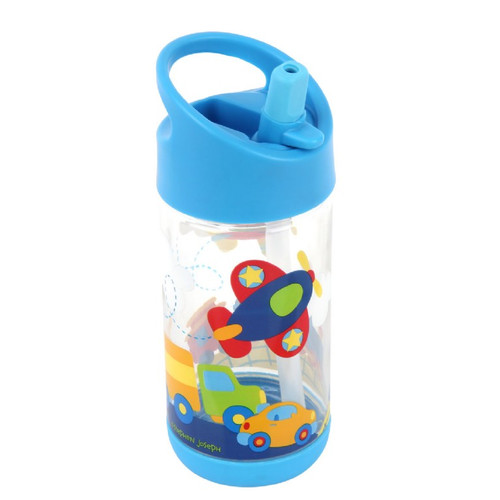 Airplane Flip Top, Spill Proof Drink Bottle Kids Travel Cup