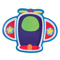 Airplane Shaped Toddler Dinner Plate Airplane Plate