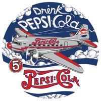 Pepsi-DC3-Porcelain Magnet Magnet-Pepsi-DC3