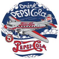 Pepsi-DC3-Tin Sign Sign-Pepsi-DC3