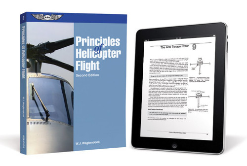 ASA Principles of Helicopter Flight Textbook Images ASA-PHF-GRAFX-CD