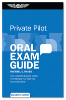 ASA Oral Exam Guide - Private - Single (ASA-OEG-P11)-SkySupplyUSA 978-1-61954-459-8