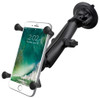 Shown: Phablet mount, Long arm, Locking Suction Cup