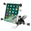 """Shown: Small Tablet Mount, 3.69"""" Arm, yoke clamp base"""