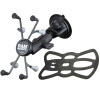 """Shown: Small Tablet Mount, 3.69"""" Arm, Locking Suction Cup base"""