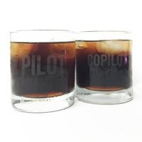 Wing PCT-01 Pilot & Co-Pilot Glass Tumblers (2 pc)