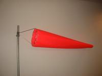 """Wind Sock 20"""" x 8' Nylon (Orange) (WC20N)"""