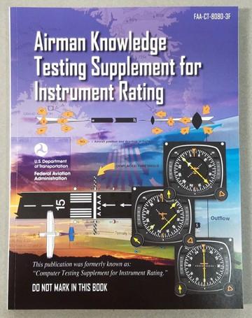 ASA Instrument Pilot Test Supplement ASA - CT-8080-3F-SkySupplyUSA