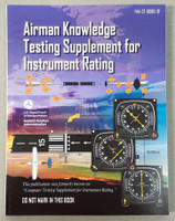 ASA Instrument Pilot Test Supplement ASA - CT-8080-3F-SkySupplyUSA